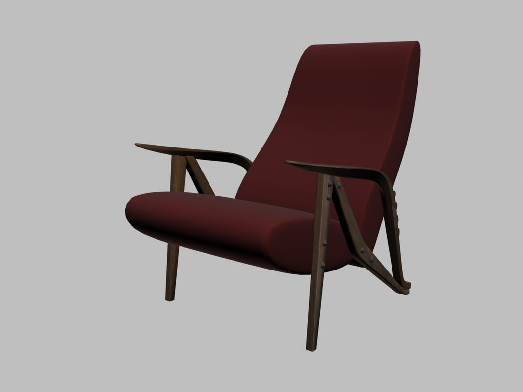 gilda armchair 3D model