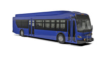 3D model short bus new flyer