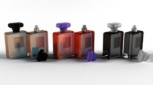 bottle parfume 3D model