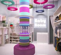 3D cloth store