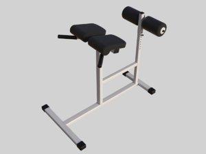 bench press 3D