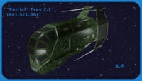 Space Ship Patriot Type 2.1 (Se1.Sc1.DGr)