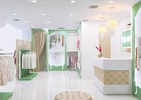 cloth store 3D