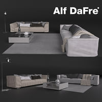 The sofas in modern style, Alf DaFre