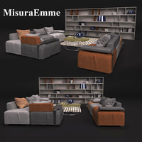 sofa table misuraemme 3D model