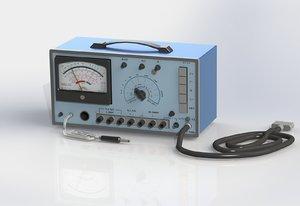 3D meter instrument wattmeter