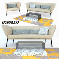 Bonaldo Nikos Sofa + table Ribbon