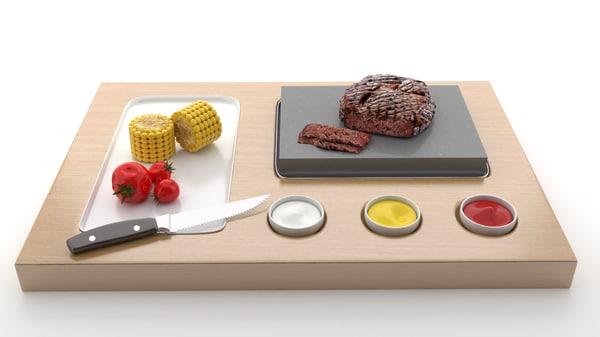3D steak wood v2
