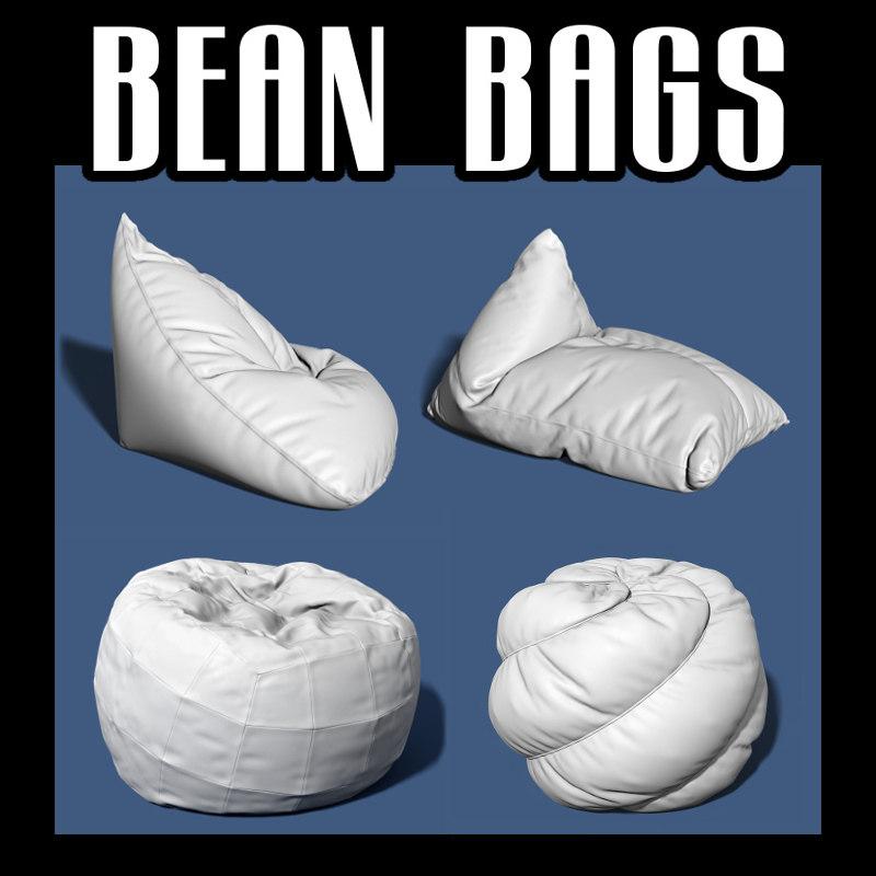 bean bag 3D