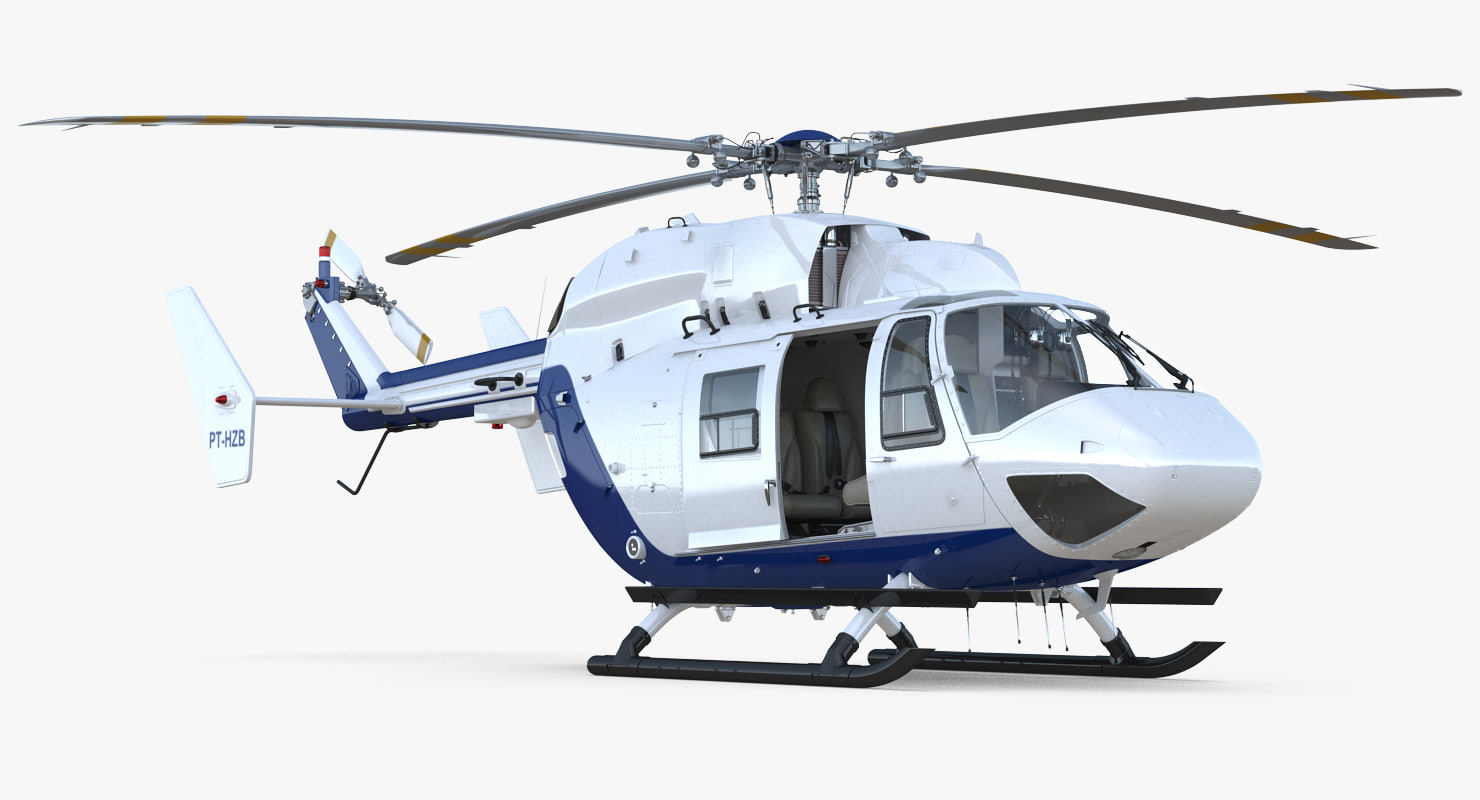 medium utility transport helicopter model