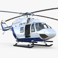 medium utility transport helicopter model