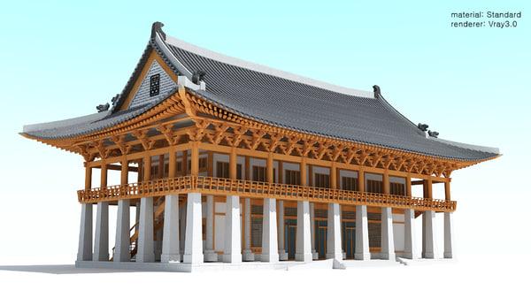 hanok-banquethall 3D model