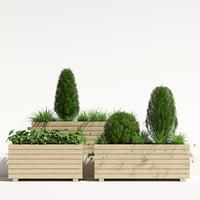 Pine planter 2