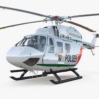 3D kawasaki bk 117 german