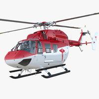 kawasaki bk 117 air ambulance 3D