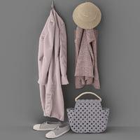 set of coats