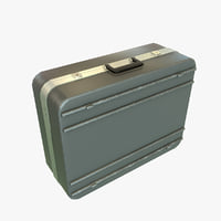 suitcase ready pbr 3D model