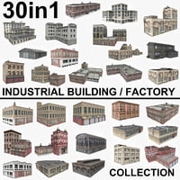 30 Industrial Building / Factory Collection