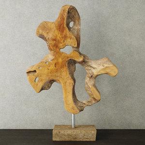 decoration teak wood 3D model