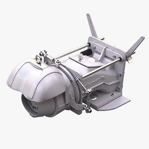 3D aj jet model