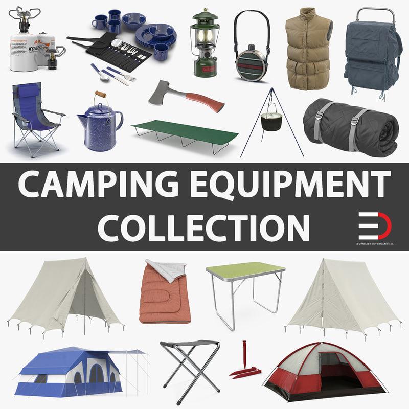 camping equipment 2 model
