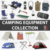 Camping Equipment Collection 2