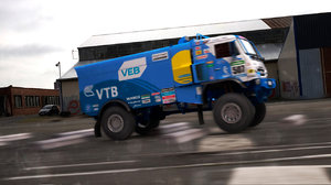 3D dakar truck kamaz 4326