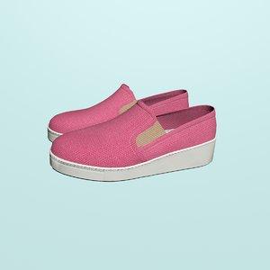 women loafers 3D model