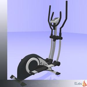 3D model kettler crosstrainer