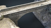 realistic bridge 3D model