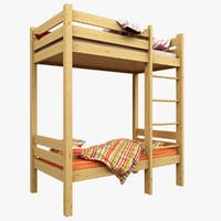 3D model children s bed