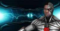 3D model cyborg teen titans