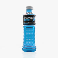 powerade 350ml 3D model