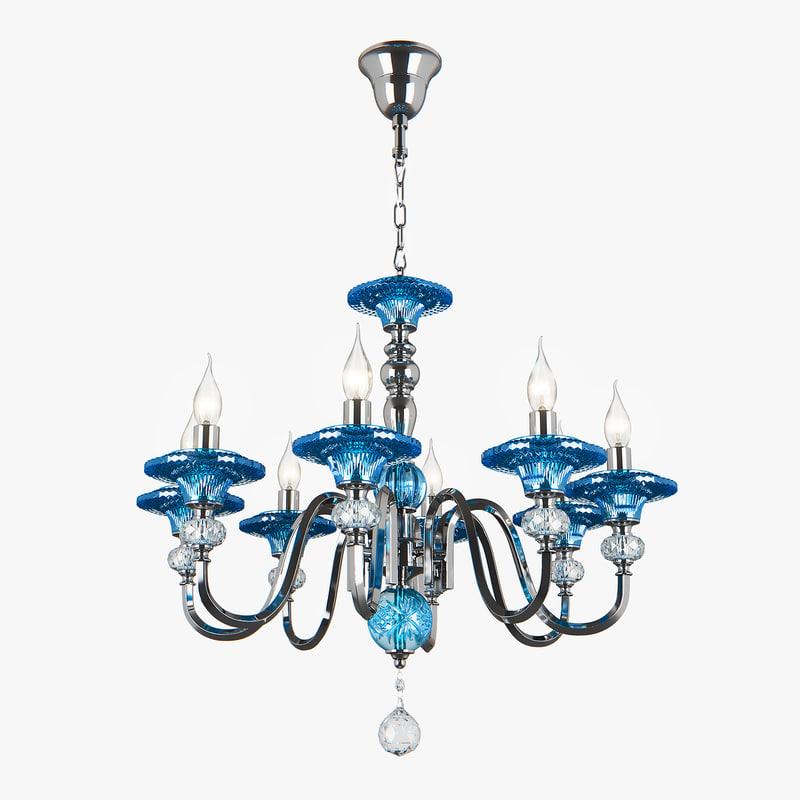 3D model 699084 azzurro osgona chandelier