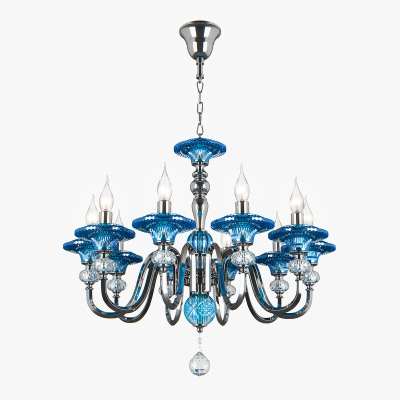 699104 azzurro osgona chandelier 3D model