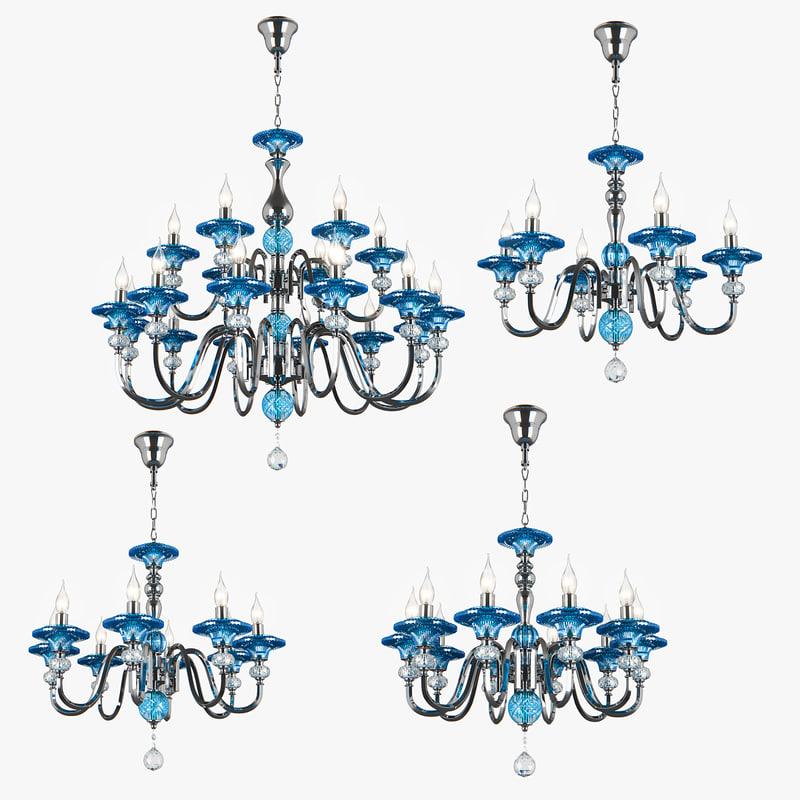 azzurro osgona 3D model