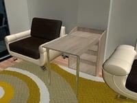 3D model functional work table