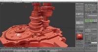 gear nissan 3D model