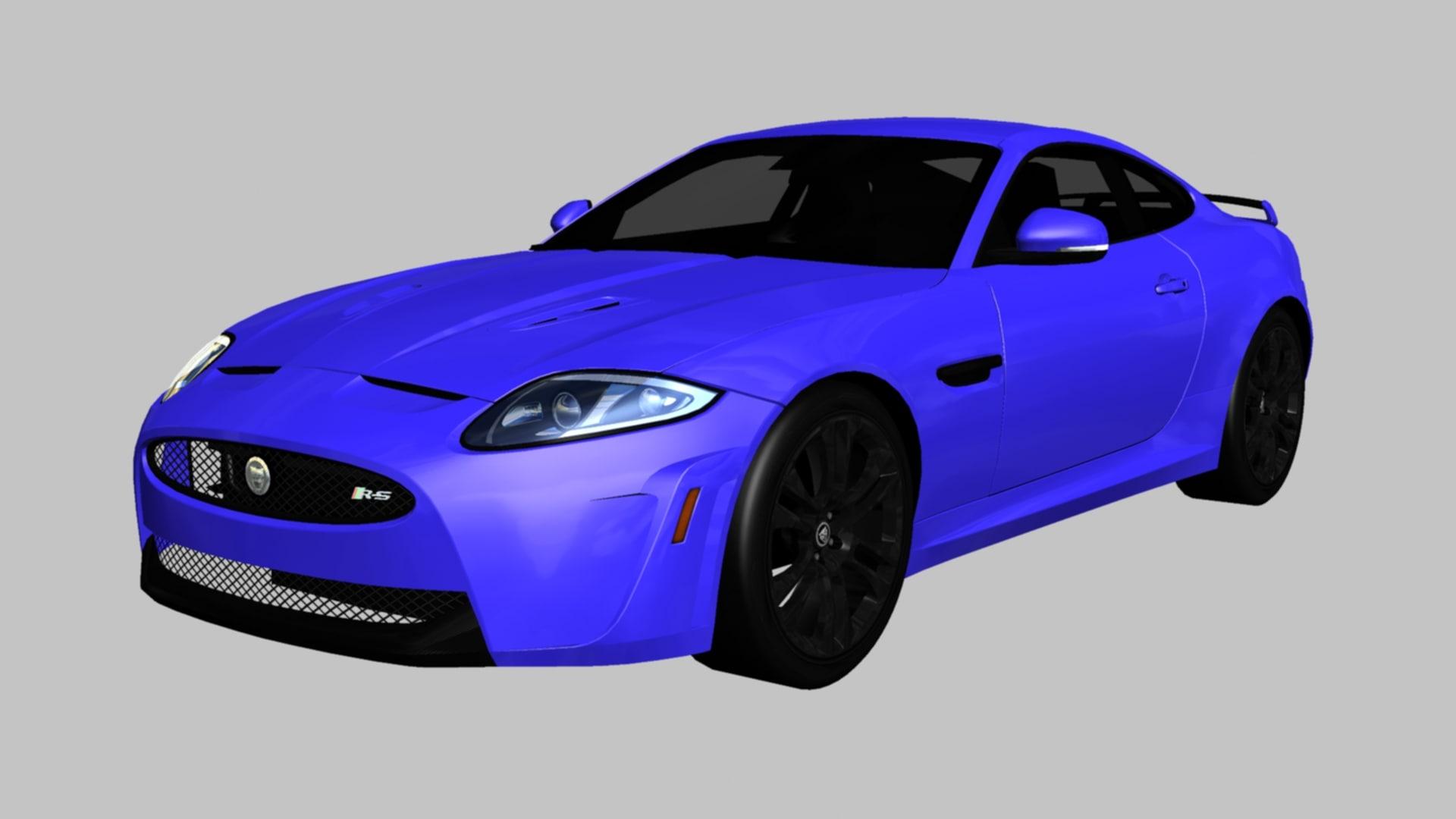 3D model s xkr xk