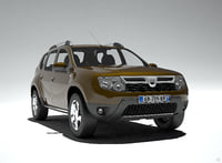 duster dacia renault car 3D model