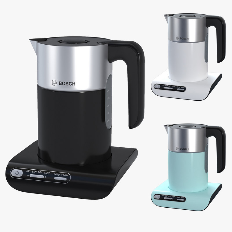 bosch styline kettle 3D model