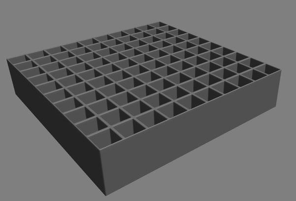 grid subdivision model