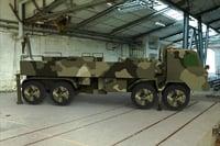 3D military truck ar