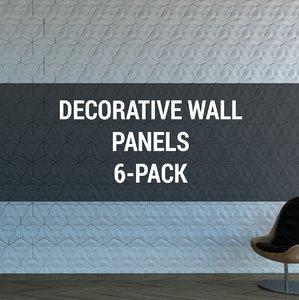decorative wall panels 3D model