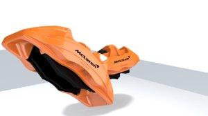 mclaren p1 shape caliper 3D