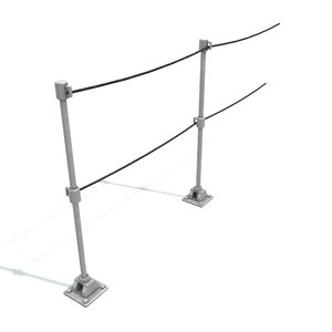 rail stanchion b 3D model