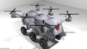 3D air robot drone