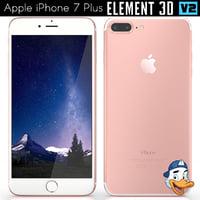 apple iphone 7 element 3D model