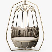 Roberti Rattan - Gravity swing sofa