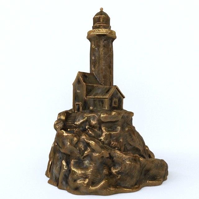 lighthause light hause 3D model